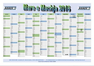 Calendrier Mare e Machja 2016