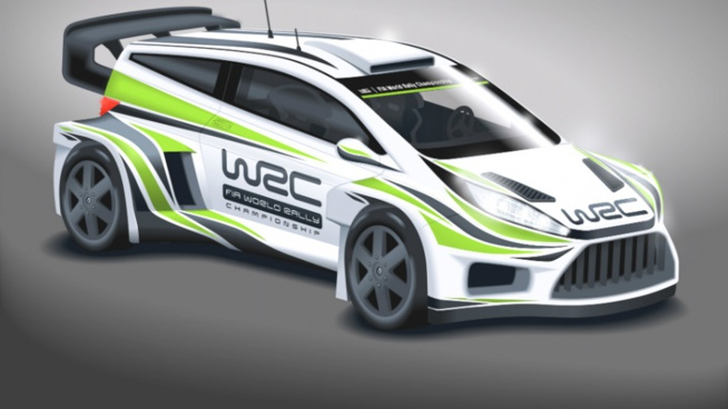 LES WORLD RALLY CARS 2017