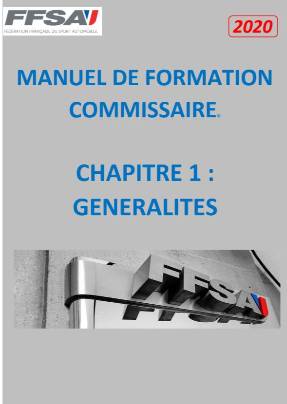 Formation Commissaires 2020