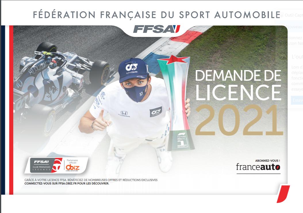Licences 2021