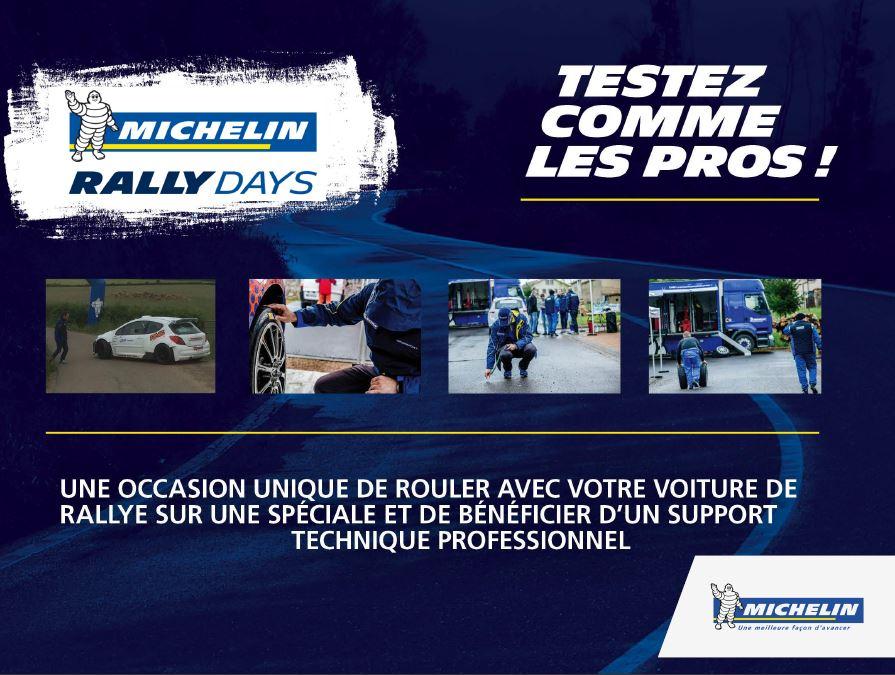 Les MichelinRallyDays