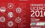 Licence 2016